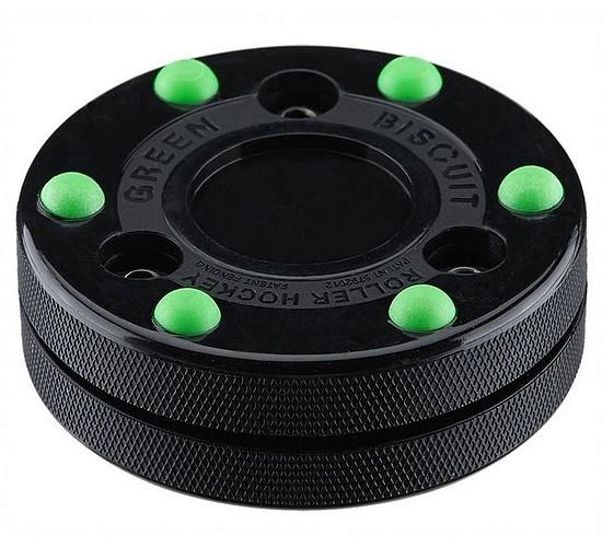 Puk Green Biscuit Roller Hockey
