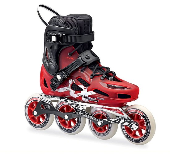 Kolečkové brusle Rollerblade Maxxum 100